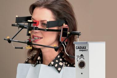 A mandibula mozgását regisztráló berendezés