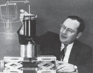 3. ábra: Arthur Schawlow (Stanford University News Service).