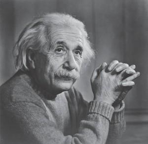1. ábra: Albert Einstein (fotó: Yousuf Karsch).