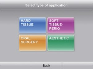 A négy fő kezelési csoport.