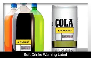 Fogorvosi figyelmeztetést helyeznének el az üdítős flakonokon