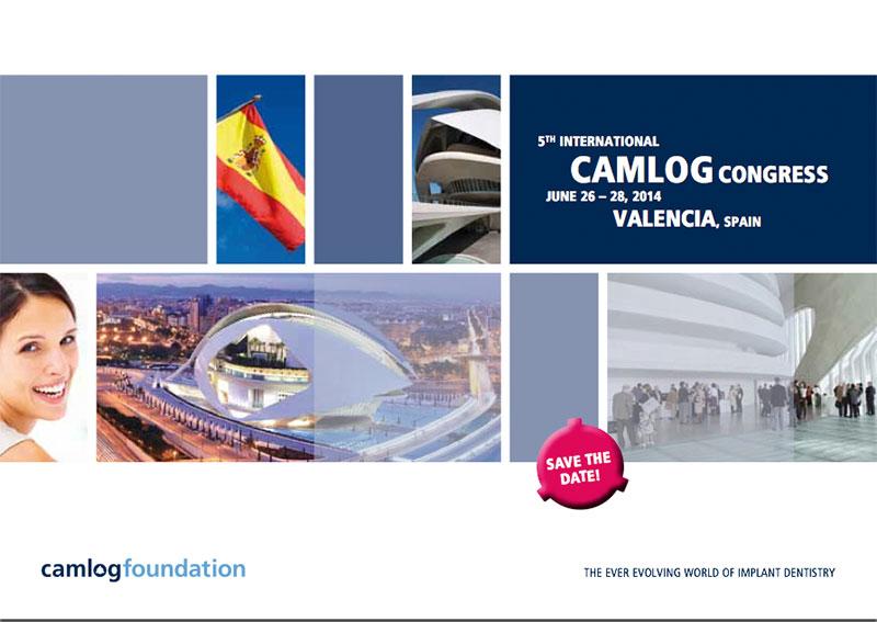 5. Nemzetközi CAMLOG Kongresszus – Valencia 2014. június 26-28.