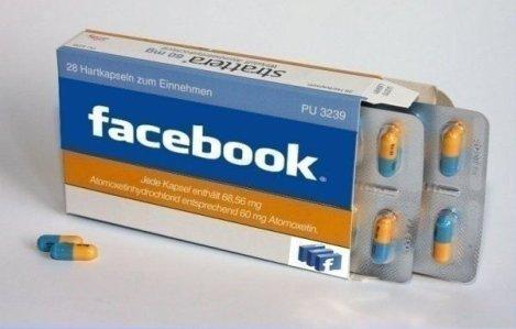 A gyógyszer neve: Facebook