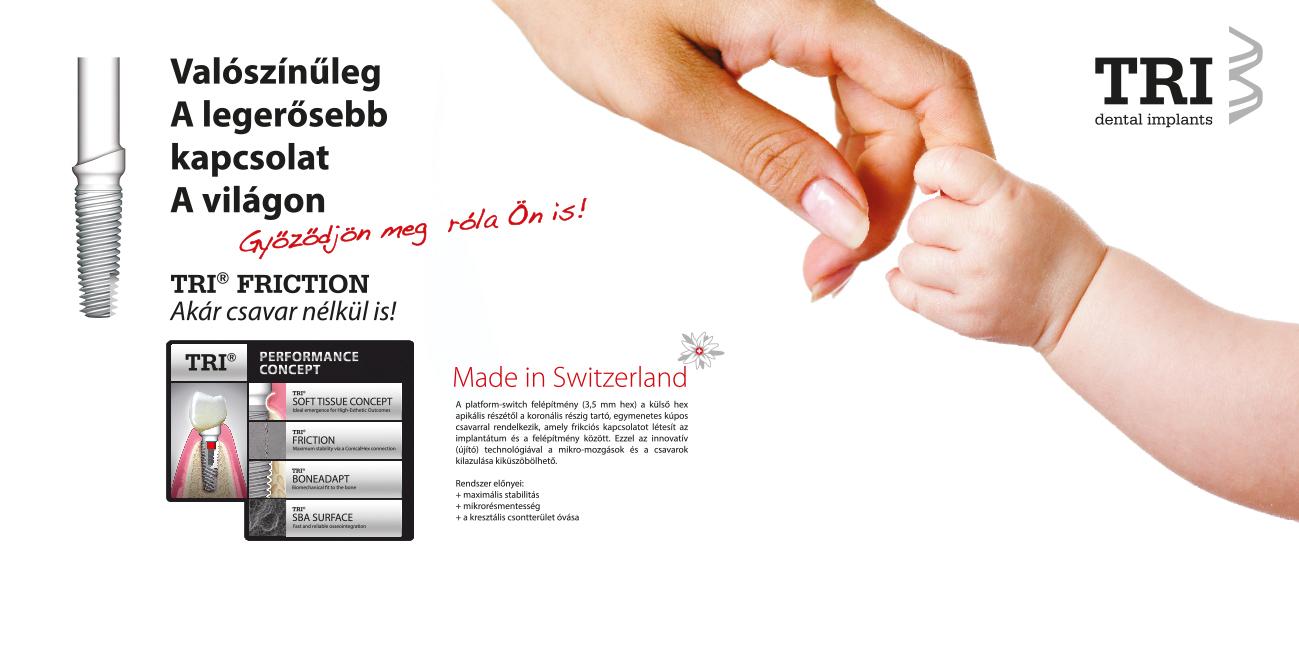 A TRI Fogászati Implantátum gyártó visszatért Magyarországra!