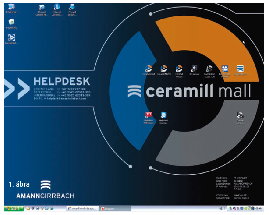 1. ábra: A kezdőoldal a munkaprogramok mellett minden fontos információt és elérhetőséget tartalmaz.