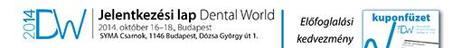 Dental World 2014 jelentkezesi lap