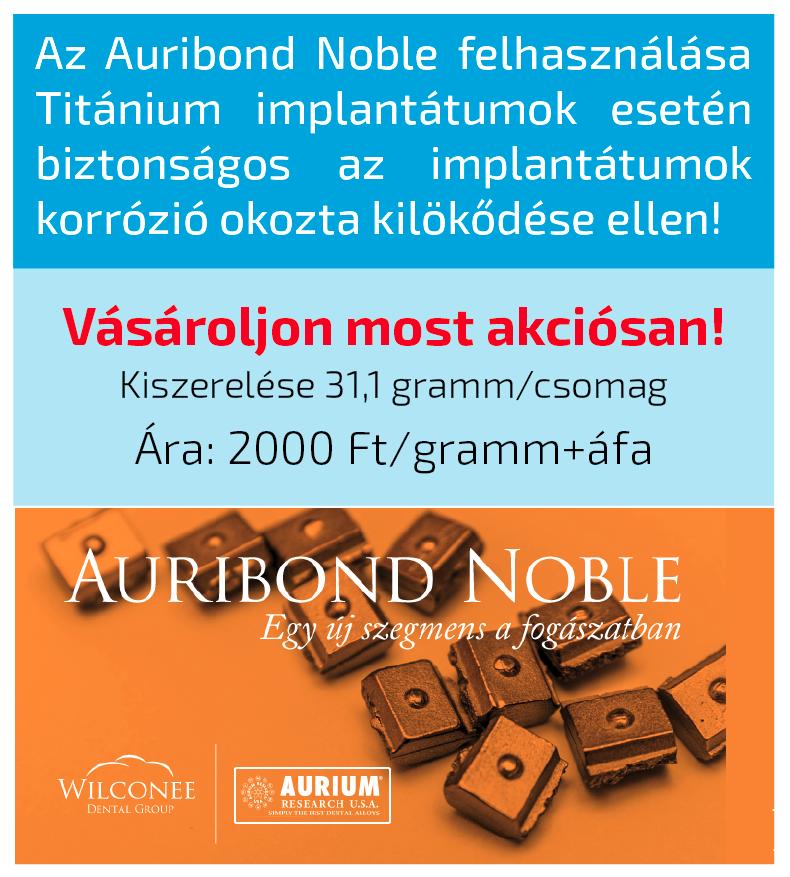 Auribond akcio