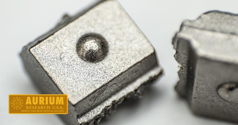 Auribond Noble™ No. 1 nemesfém ötvözet Titánium Implantátumra