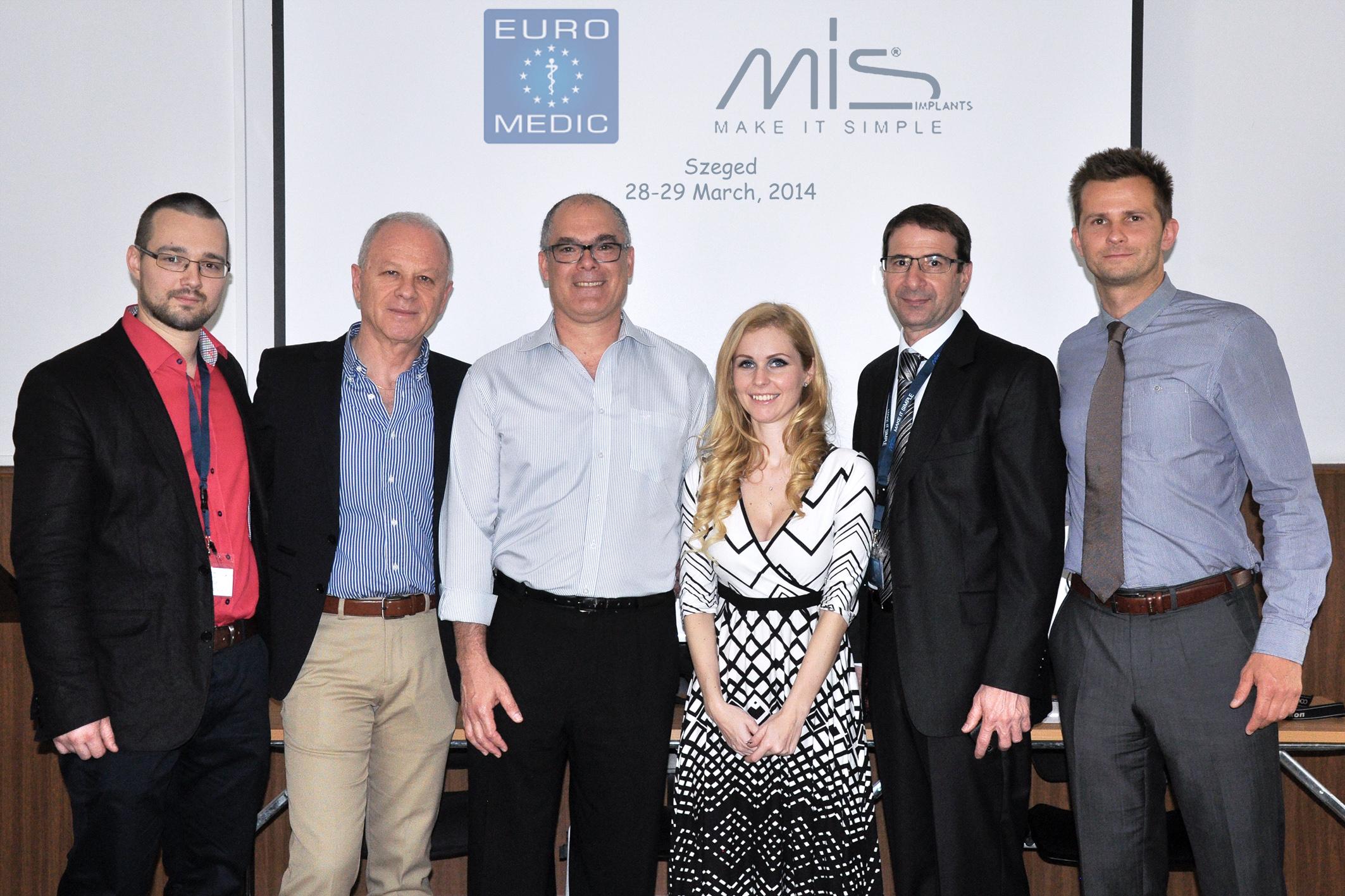 MIS Implants rendszer bemutatása a Szegedi Tudományegyetem Fogorvostudományi Kar hallgatóinak