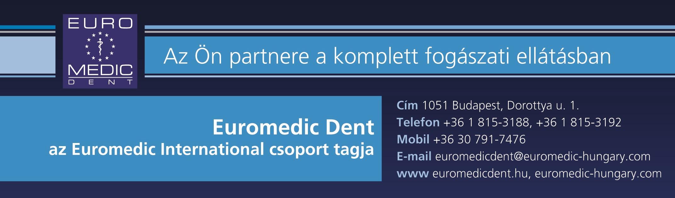 Dental.hu fejléc-lábléc egyben