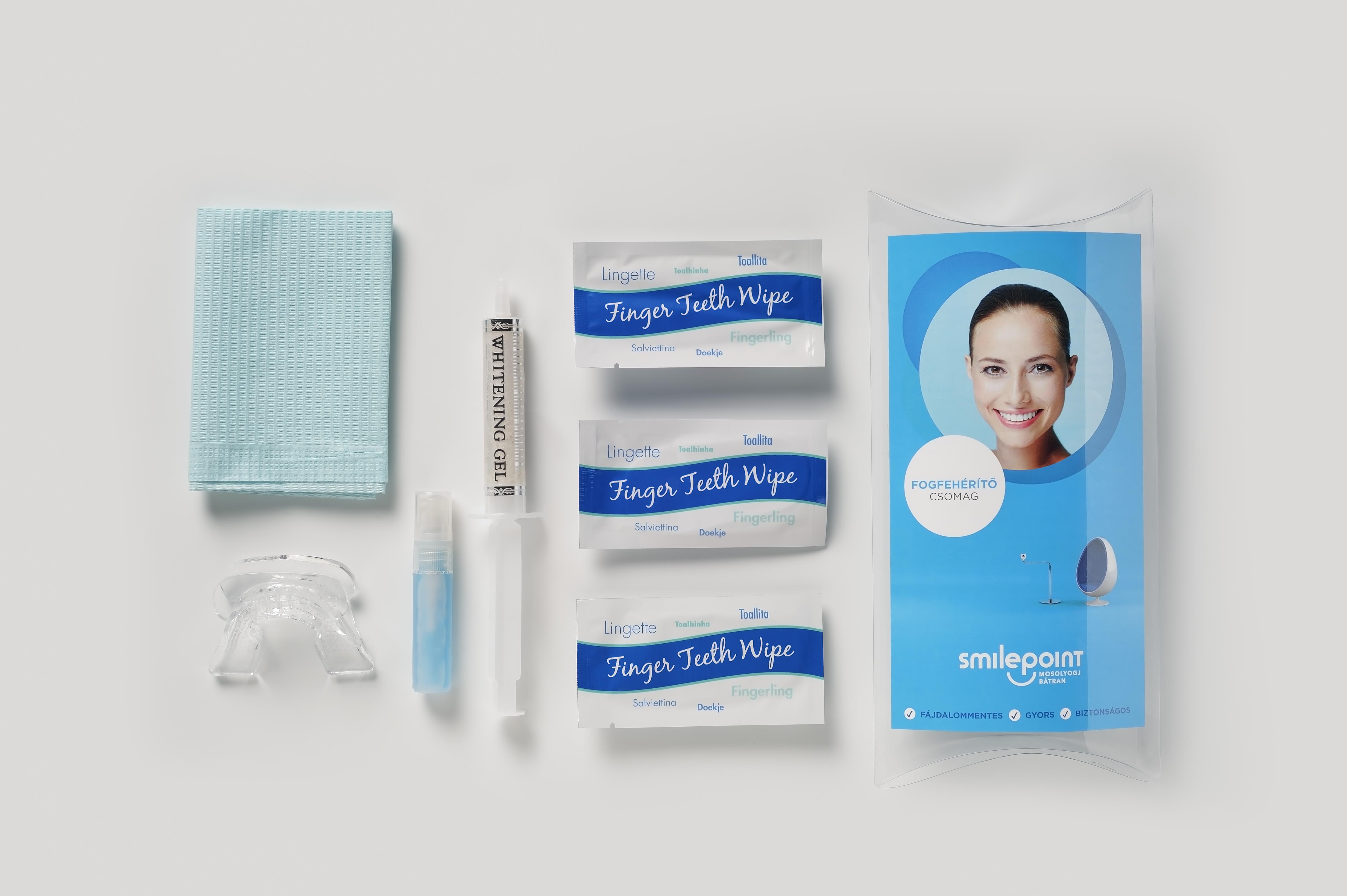 Újdonság: a Smilepoint innovatív kozmetikai fogfehérítés