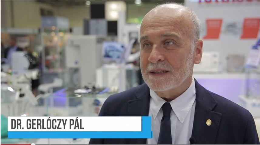 Interjú dr. Gerlóczy Pállal a 2014-es Dental World kapcsán