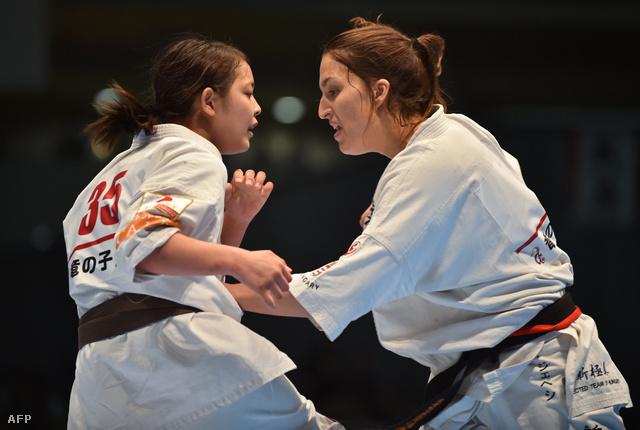 A magyar fogorvosnő végigverte a japán karatemestereket