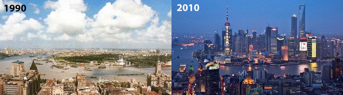 Shanghai 20 éve