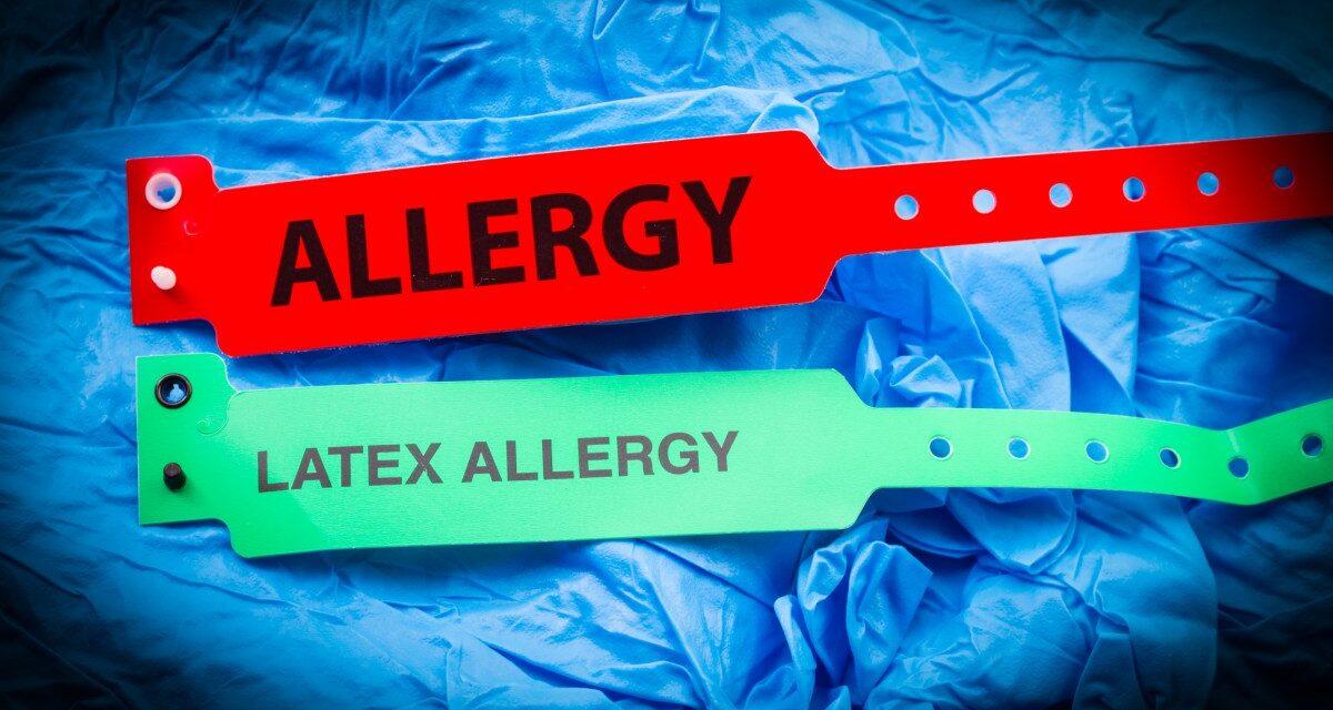 LATEX ALLERGIA <br><span style='font-size:12px;'>A fogorvosi gyakorlatban</span>