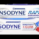 Kettős segítség a fogérzékenység, ínyvérzés ellen – Sensodyne SENSITIVITY & GUM