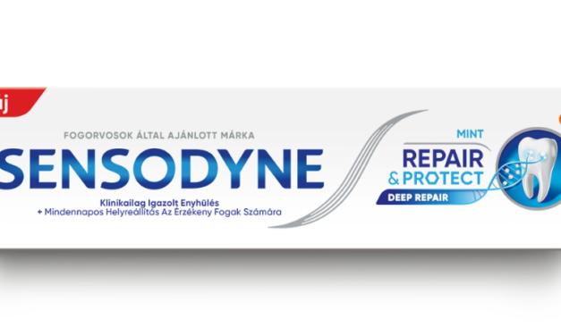 Mélyreható támogatás az érzékeny fogaknak Sensodyne Repair & Protect