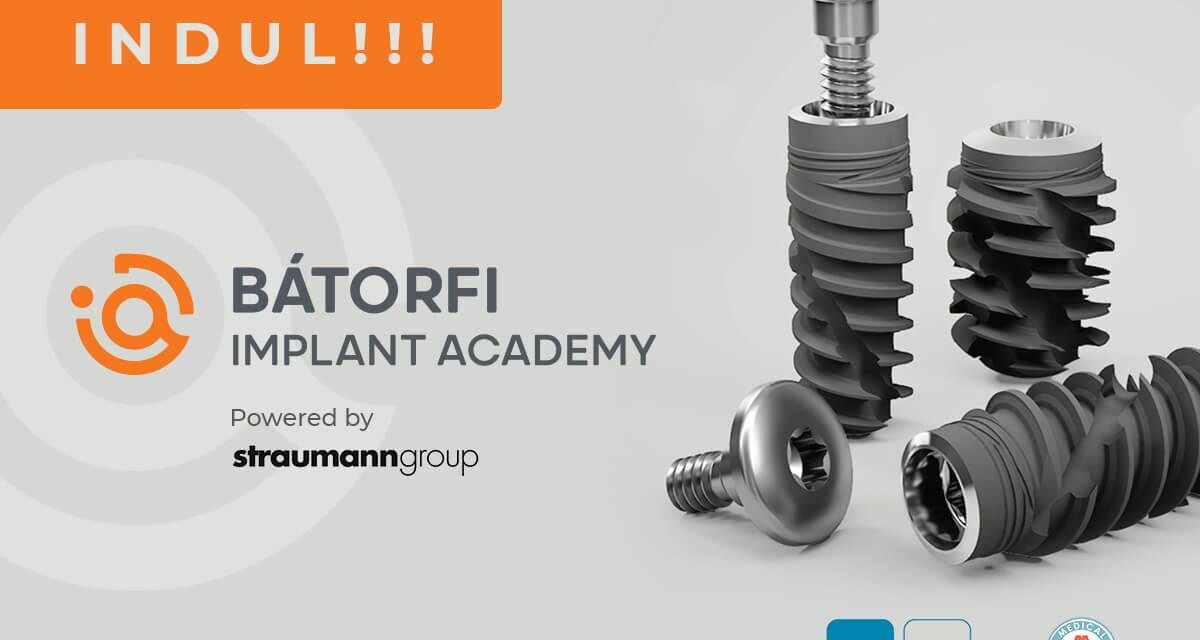 Indul a Bátorfi Implant Akadémia